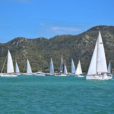 Photograph - Magnetic Island Race Week 2016 by Keiran Lusk