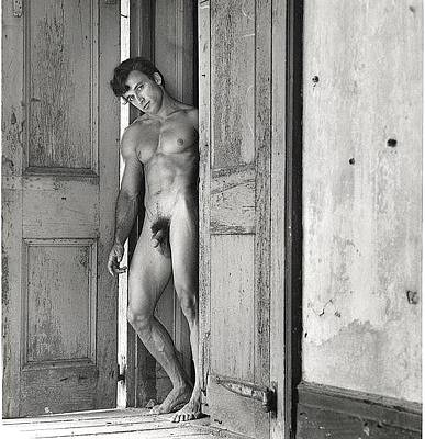 Photograph - Male Art Nude by Jake Hartz