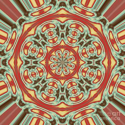 Algorithmic Digital Art - Mandala by Gaspar Avila
