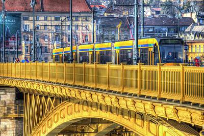 Claude Monet - Margaret Bridge Budapest by David Pyatt
