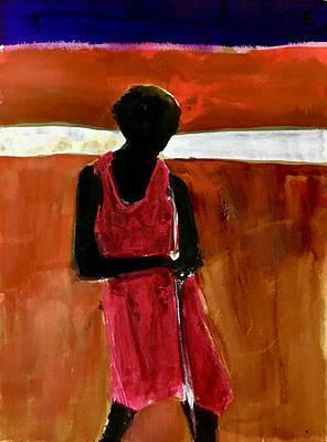 Painting - Masaai Boy by Carole Johnson