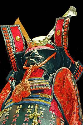 Oda Digital Art - Mask Samurai. by Andy Za