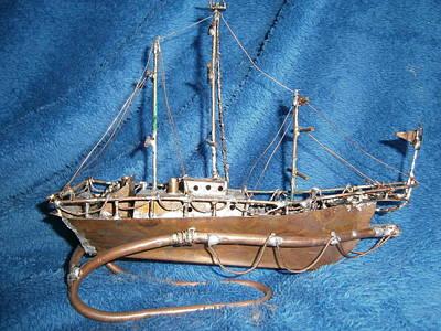 3 Mast Tall Ship Original
