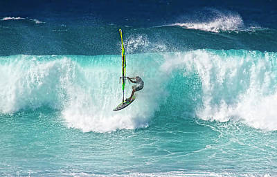 Photograph - Maui Windsurfer Pro by Waterdancer