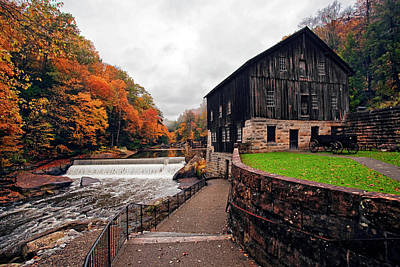 Recent Photograph - Mcconnells Mill by Marcia Colelli