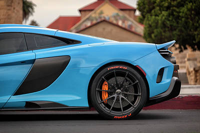 Photograph - #mclaren #675lt #print by ItzKirb Photography