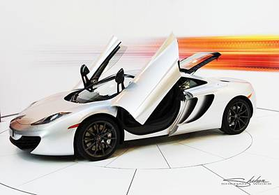 Photograph - Mclaren Mp4-12c by Shehan Wicks