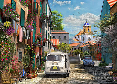 Mediterranean Morning Art Print