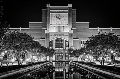 Photograph - Memorial Stadium by Ricky Barnard