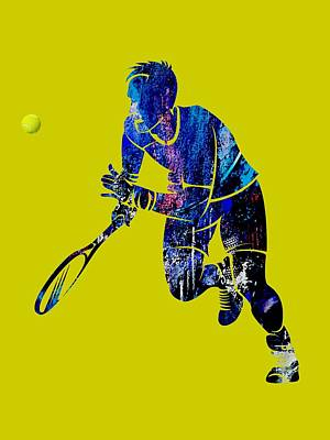 Mixed Media - Mens Tennis Collection by Marvin Blaine
