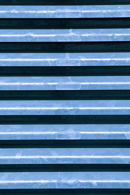 Realistic Photograph - Metal Bars by Tom Gowanlock