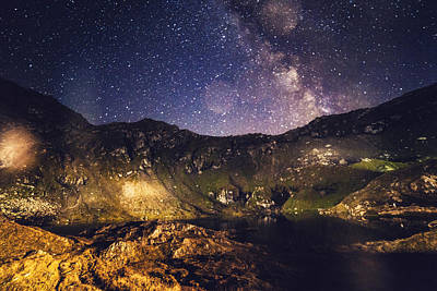 Balea Photograph - Milky Way by Chris M