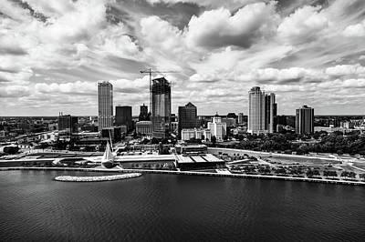 Photograph - Milwaukee Waterfront Skyline by L O C