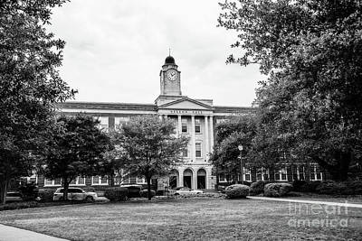 Photograph - Mississippi College - Nelson Hall by Scott Pellegrin