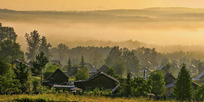 Photograph - Misty Morning by Vladimir Kholostykh