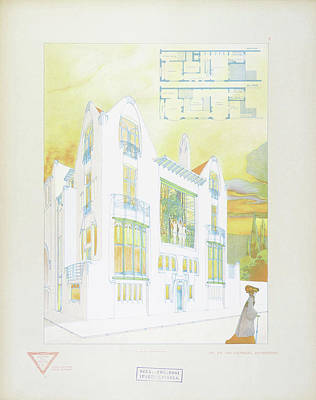 Antwerpen Painting - Modern Design by Joseph Gradl