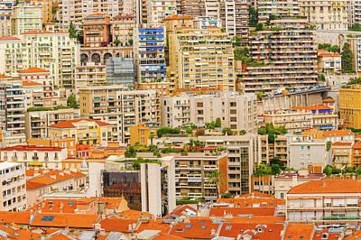 Photograph - Monte Carlo Cityscape by Marek Poplawski