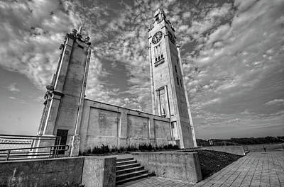 Historic Architecture Photograph - Montreal Clock Tower by Craig Fildes