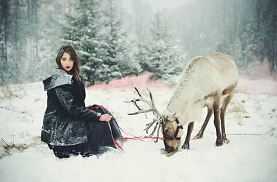 Fashion Digital Art - Mood by Maye Loeser