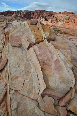 Photograph - Morning In Valley Of Fire State Park by Ray Mathis