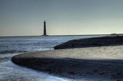Morris Island Lighthouse Original by Dustin K Ryan
