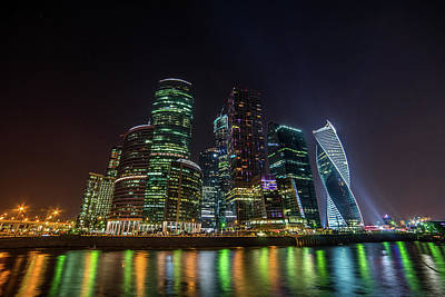 Photograph - Moscow International Business Center by Daria Klepikova