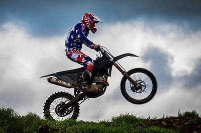 Photograph - Motocross by Sam Smith Photography