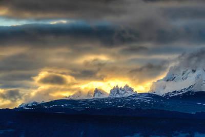Photograph - Mt. Fitzroy Sunrise by Walt Sterneman