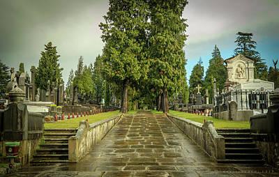 Photograph - Municipal Cementario De Bilbao by Henri Irizarri