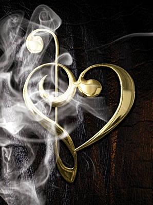 Musical Heart Collection Art Print