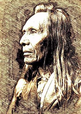 Native Pride Art Print by John Springfield