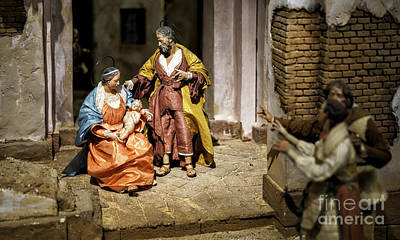 Photograph - Nativity Scene by Pablo Avanzini