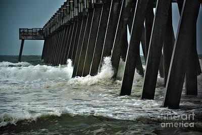 Photograph - Navarre Pier by Janice Spivey