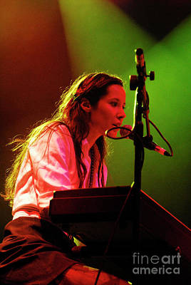 Photograph - Nerina Pallot  by Jenny Potter