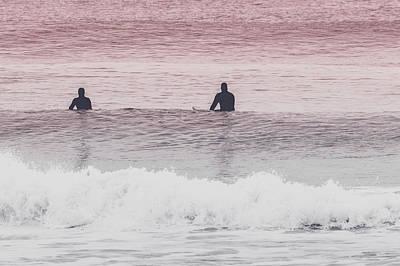 New Jersey Surfers Art Print