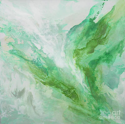 Metaphysical Painting - Healing Light by Jen Joachim