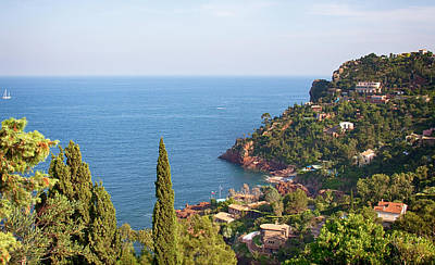 Photograph - French Mediterranean Coastline by Tatiana Travelways