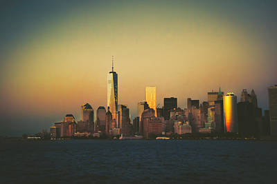 1 Wtc Photograph - New York City Skyline by Vivienne Gucwa