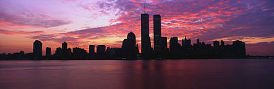 Twin Towers Nyc Photograph - New York Ny by Panoramic Images
