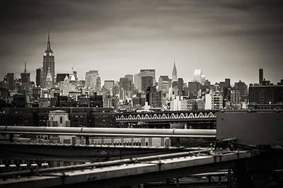 New York Skyline Photograph - New York Skyline  by Alexander Voss