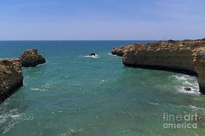 Photograph - Ninho Da Andorinha Beach In Albufeira by Angelo DeVal