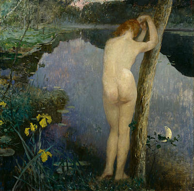 Painting - Nocturne by Eilif Peterssen
