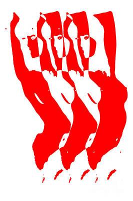 Fine Art Nude Digital Art - Nude by Falko Follert