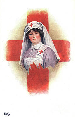 Photograph - Nurse, C1914.  by Granger