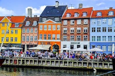 Nyhavn - Copenhagen Denmark Art Print by Jon Berghoff