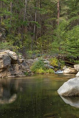 Oak Creek Photograph - Oak Creek by Jon Manjeot