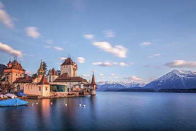 Switzerland Photograph - Oberhofen - Switzerland by Joana Kruse