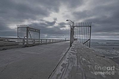 Photograph - Ocean Beach Pier  by Roman Gomez