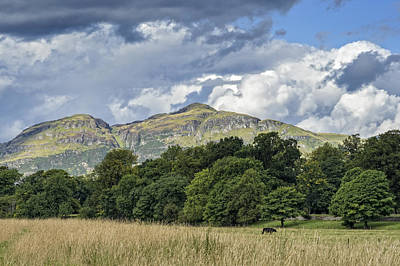 Photograph - Ochil Hills by Jeremy Lavender Photography