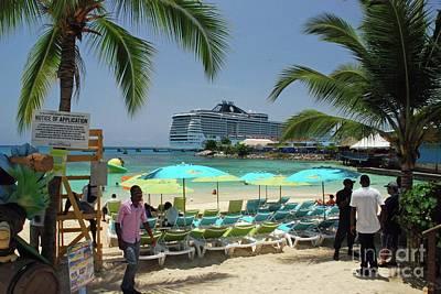 Photograph - Ocho Rios, Jamaica by Gary Wonning